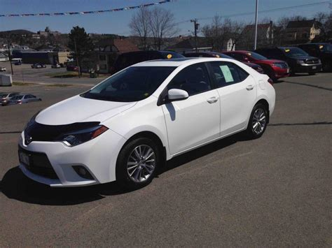 Toyota Corolla 2015 Le Used 2015 Toyota Corolla Le To Sale For 21 In Edmundston