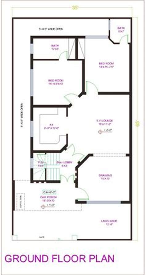 House Plans With Inlaw Apartment house plan for 20 feet by 50 feet plot plot size 111