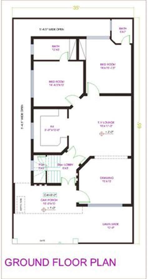 Duplex Designs house plan for 20 feet by 50 feet plot plot size 111