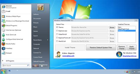 theme windows 8 1 installer windows theme installer t 233 l 233 charger