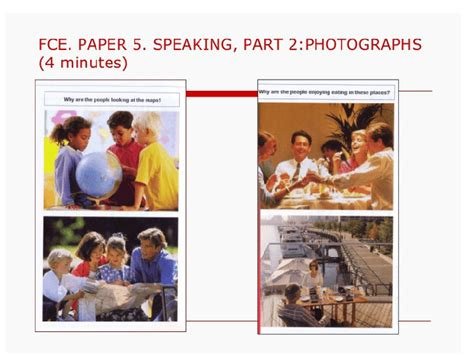 test fce fce speaking practice parts 2 and 3
