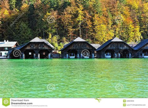 natural boat cleaner boat houses on the lake stock photo image of clean