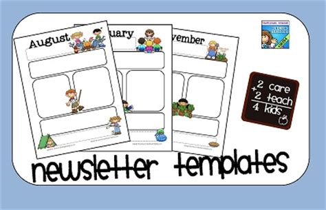 newsletter templates free printable free printable blank newsletter templates calendar