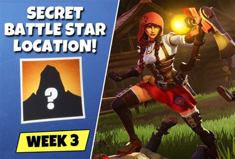 fortnite week  secret battle star map location loading