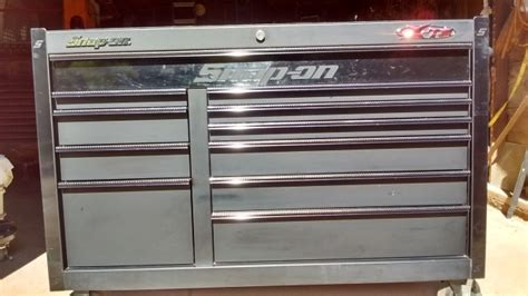 11 Drawer Snap On Tool Box by Snap On 11 Drawer Flat Black Tool Box Ptci Classifieds