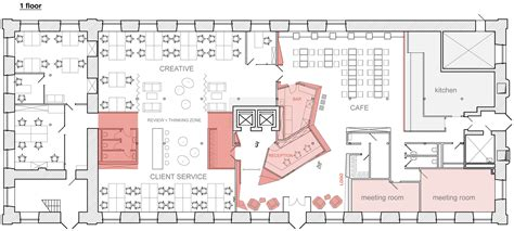 Floor Plan Layout by Galeria De Bbdo Moscow Nefaresearch 23