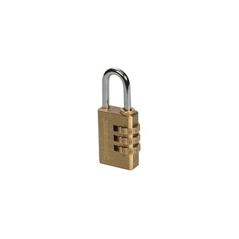 cadenas en laiton 224 code 3 chiffres 744867 silverline - Cadenas Code 3 Chiffres