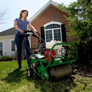 lawn aerator home depot pro aerator rental the home depot