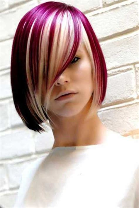 bob hairstyles different colors new hair color inspirations for bob haircuts bob