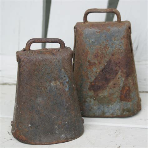 Cowbell Aka Cow Bell 5 5 Inch antique cow bell pair