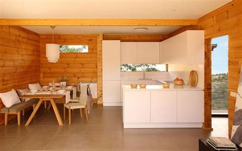 modern log home interiors modern cabin kitchen log cabins pinterest modern