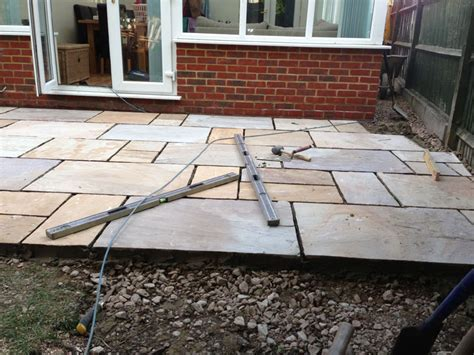 patio area patio area aylesbury dna builders thame oxfordshire extensions renovations gardens