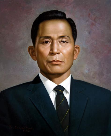Korean Home Decor South Korea S President Park Chung Hee Painting By Yoo