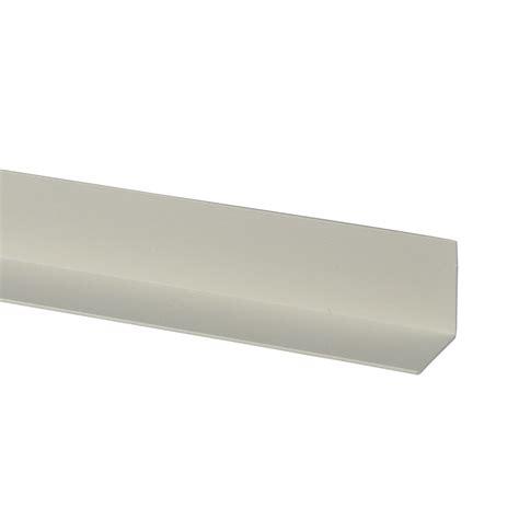 hoekijzer praxis hoekprofiel kunststof wit 40x40 mm 260 cm kunststof