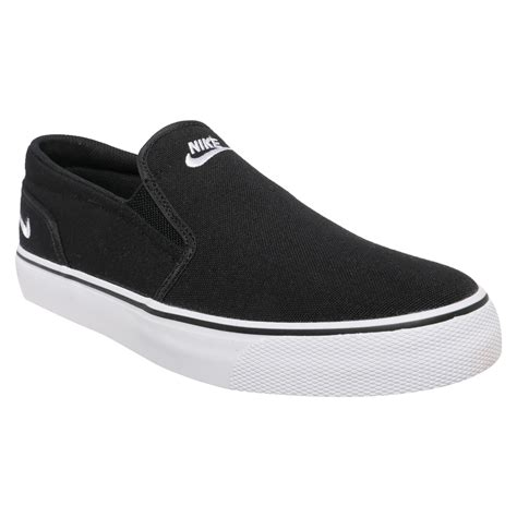 slip on shoes nike toki s slip on shoes black white