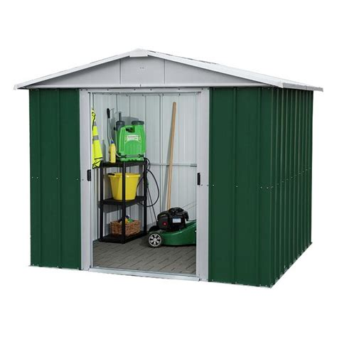 buy yardmaster 8 x 6 metal apex shed at argos co uk your