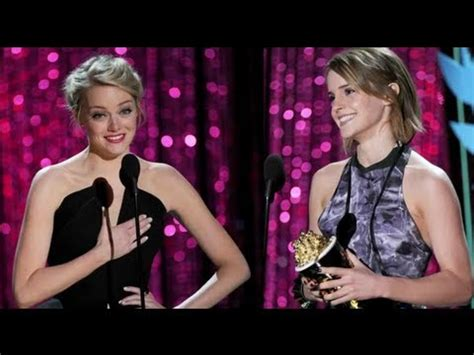 emma stone vs emma watson emma watson vs emma stone at mtv movie awards 2012 youtube