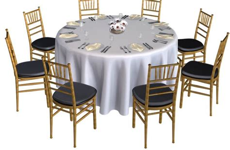 banquet table without chair covers chicago table rental