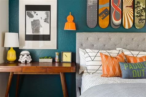 orange and teal bedroom ideas teenage bedroom color schemes pictures options ideas