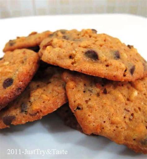 resep rice crispy chocolate chips cookies crispy