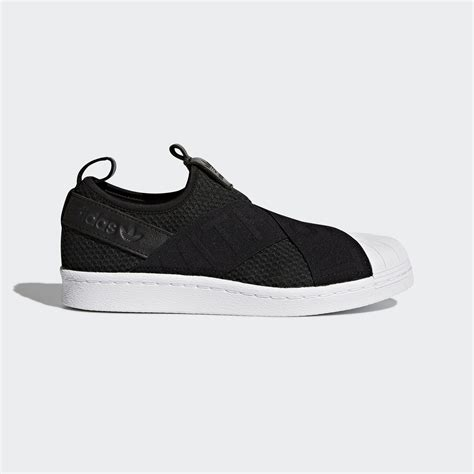 Adidas Superstar Slipon Black Onyx adidas superstar slip on shoes black adidas us