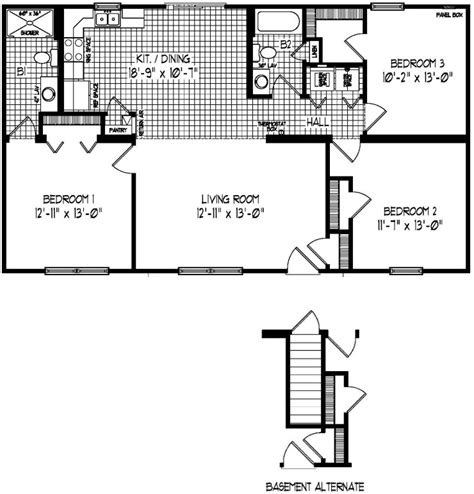 liberty modular home floor plan