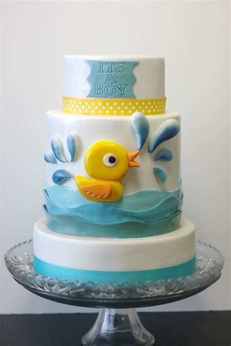 Rubber Duckie Baby Shower by Rubber Duckie Baby Shower Cake Cakecentral