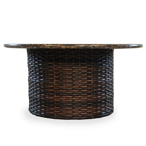 faux patio table tops 100 telescope casual kendall wicker stacking faux