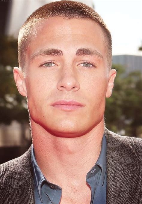 crew cut men hairstyle for fat face colton hayes a man who works a buzz cut well i never