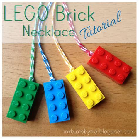 lego necklace tutorial ink blots by trd lego brick necklace tutorial