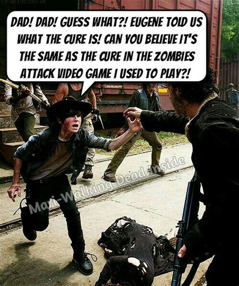 Carl Grimes Memes - the walking dead memes rick grimes carl grimes eugene