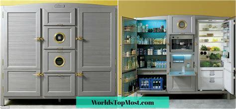 meneghini arredamenti refrigerator most expensive kitchen gadgets of 2018 top 10 list