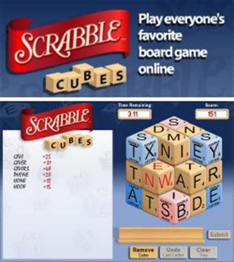 worldwinner scrabble cubes play new scrabble cubes