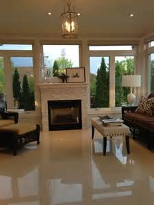 fireplace for sunroom place