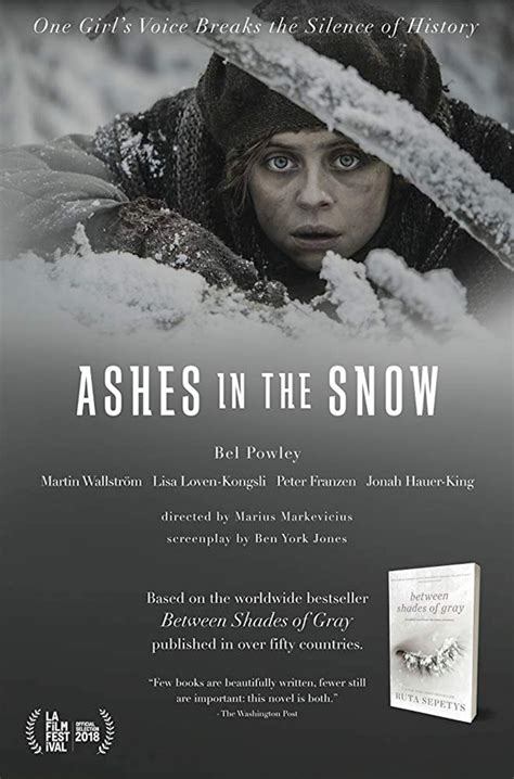 bel powley new movie trailer for siberian survival film ashes in the snow