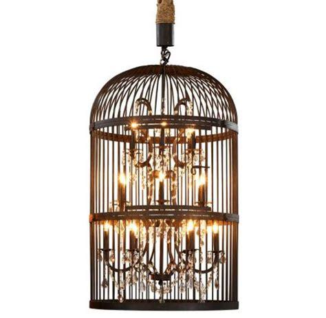 How To Make A Birdcage Chandelier Design Spotting Vintage Bird Cage Chandelier The Luxury
