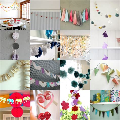diy decorations garland les enfants stylish children s diy decorations garlands