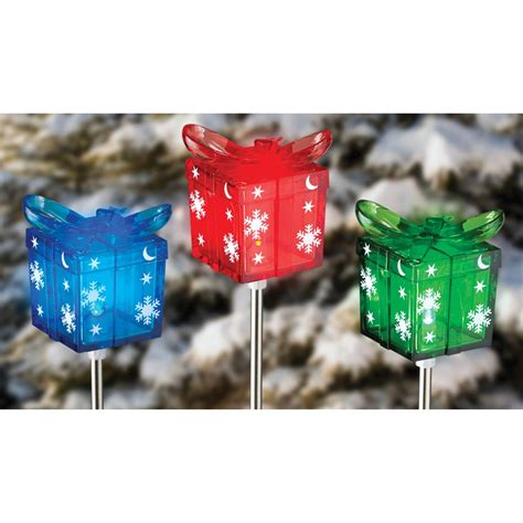 4 pk of solar christmas lights 19 99 mybargainbuddy com