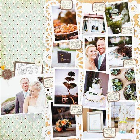 scrapbook wedding layout ideas wedding scrapbook layout ideas