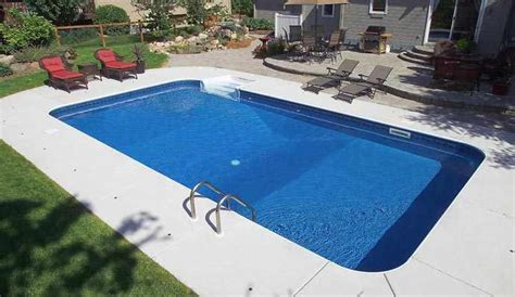 Low Cost Backyard Ideas Rectangular Inground Pools Twin Cities Mn