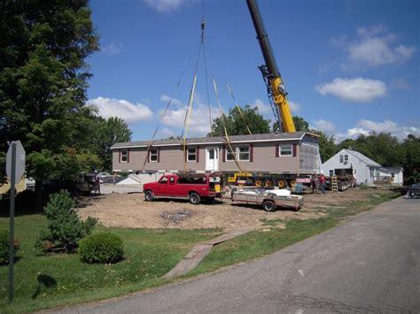 are modular homes well built here s a crane set of a 76 long 9 sidewall modular home