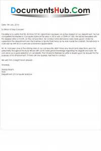 Recommendation Letter Format From Hod character reference letter documentshub