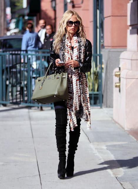 Debra Messings Birkin Handbag by Fashionista Zoe Of Fashion Of Week Streetstyle