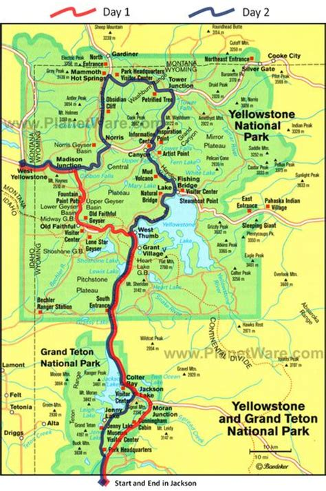 seattle to west yellowstone map yellowstone map images beautiful