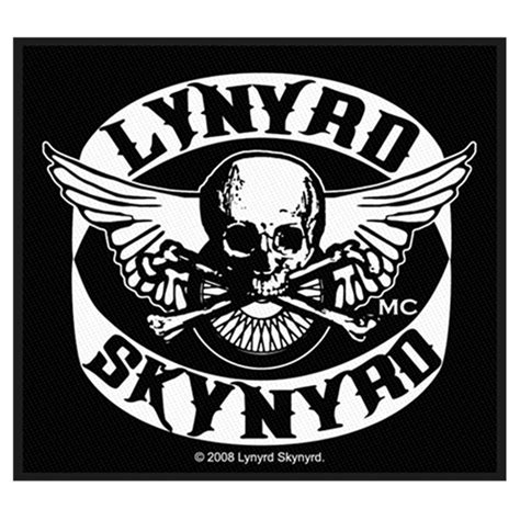 lynyrd skynyrd merchandise mc patch by lynyrd skynyrd loudtrax merch
