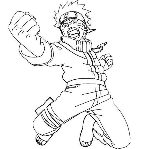 printable naruto coloring pages coloring me