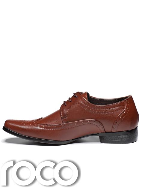 Bennet Original Handmade Shoes boys formal shoes cherry brown shoes boys brogues brown