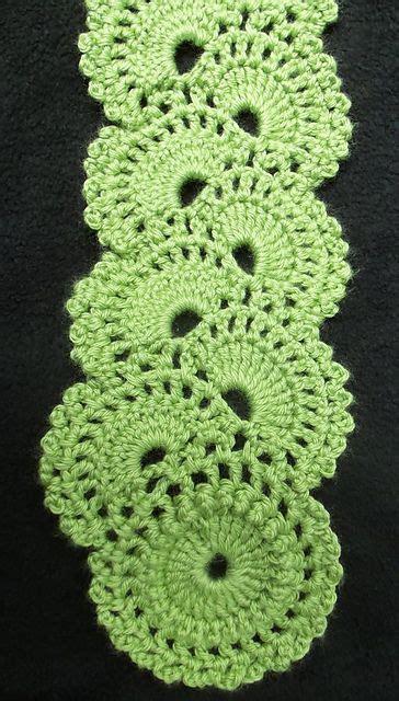 crochet pattern queen anne s lace scarf queen anne s lace scarf pattern by joyce lewis