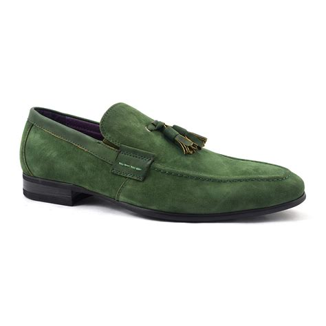 mens suede shoes loafers find olive suede tassel loafer gucinari mens loafers