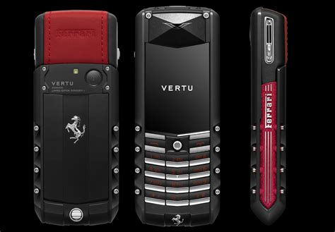 vertu phone cost limited edition vertu ascent ferrari gt phone designed